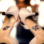 I Do Wedding Shoe Sticker A..