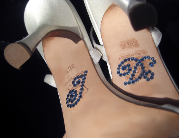 I Do Wedding Shoe Sticker Applique